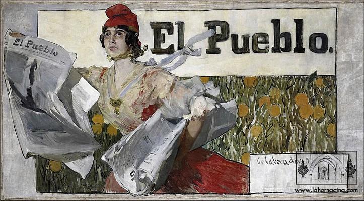 boceto-de-cartel-para-el-diario-el-pueblo-joaquin-sorolla-coleccion-pere-maria-orts-i-bosch