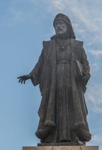 Monument a Francesc de Vinatea. Plaça de l'Ajuntament. Valéncia ciutat