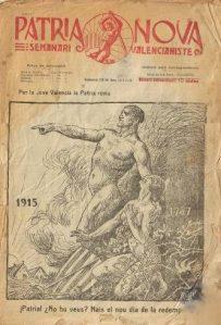 Portada revista Patria Nova, 23-06-1915
